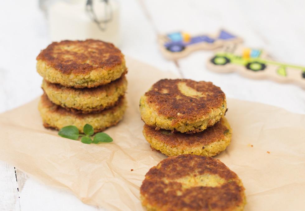 recipe: pumpkin and chickpea patties [7]