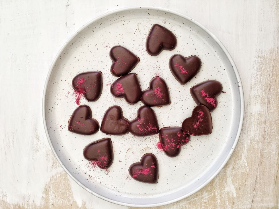 Wholesome Valentine Chocolate Hearts