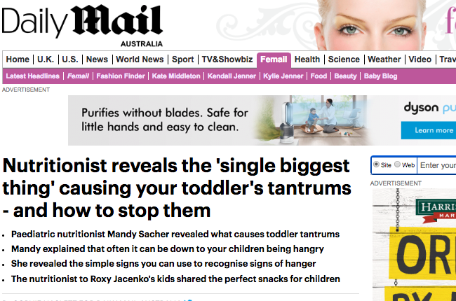 Revealed: The single biggest thing causing your toddler's tantrums