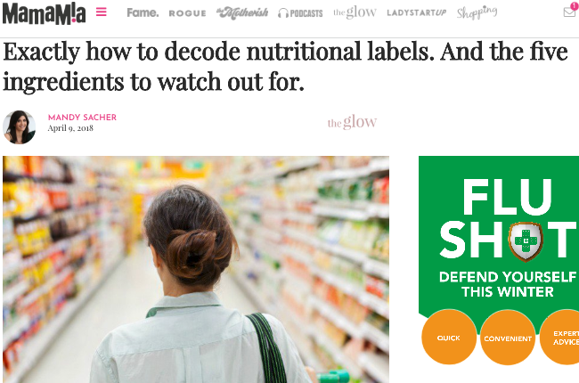 Exactly how to decode nutritional labels. And the five ingredients to watch out for
