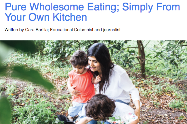 Pure Wholesome Eating; Simply From Your Own Kitchen