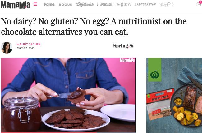 No dairy? No gluten? No egg? A nutritionist on the chocolate alternatives you can eat.