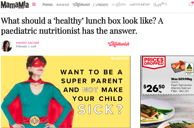 What should a 'healthy' lunch box look like? A paediatric nutritionist has the answer.